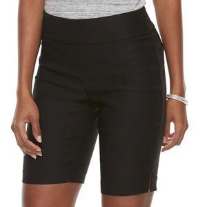 Apt 9 black Brynn shorts size 4